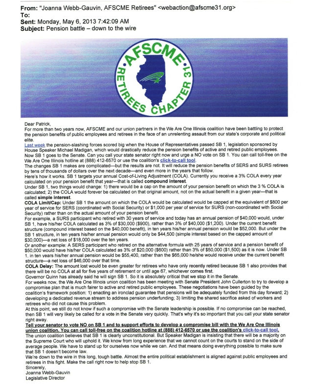 AFSCME email 1